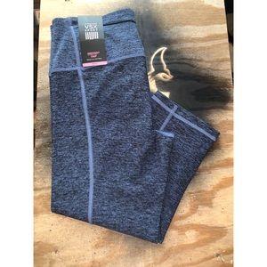 VSX crop knockout leggings